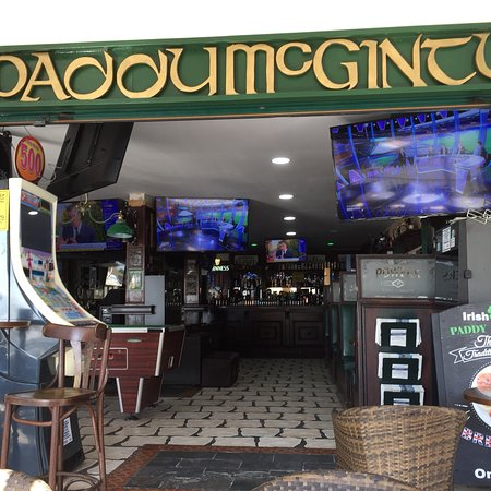 Paddy McGinty's: View from outside terrace