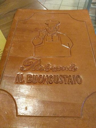 San Terenziano, Italien: Menukaart