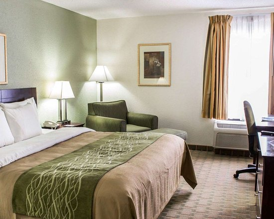 Winterville, Carolina del Norte: Guest room with king bed