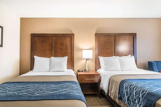 Comfort Inn Concord: Guest room with double bed(s)