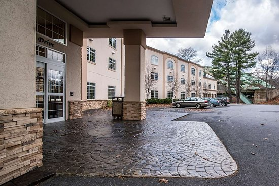 West Chesterfield, Nueva Hampshire: Hotel entrance