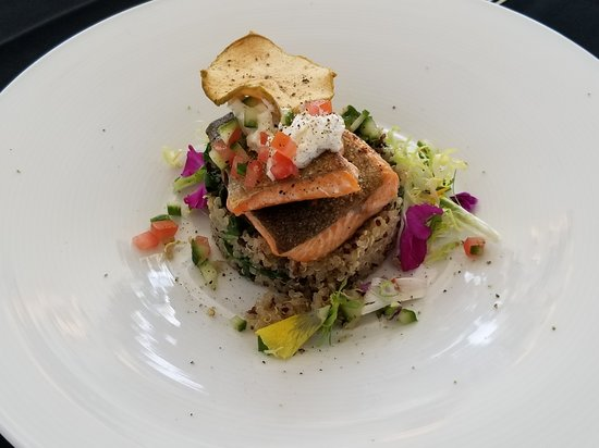 Grafton, Kanada: Pan seared trout