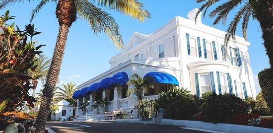 Rosedon Hotel: Main House Drive