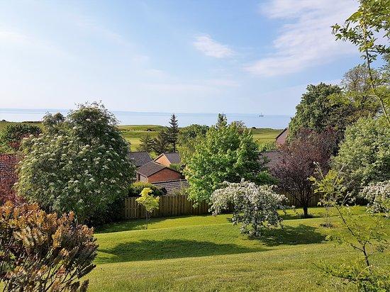 Lundin Links, UK: El jardín junto al comedor