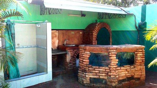La Boca, Kuba: Cocina Exterior