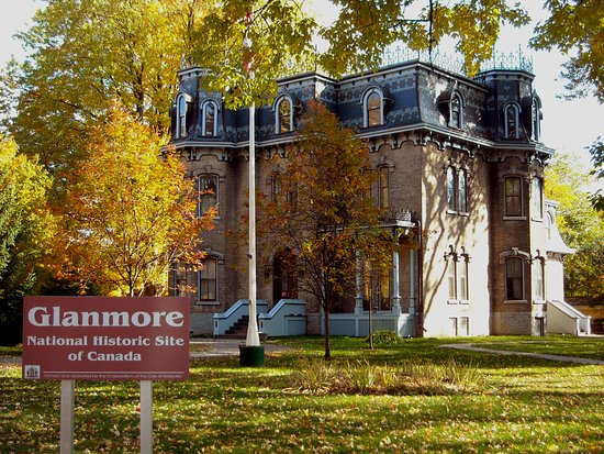 Bay of Quinte, Canada: This grand Victorian mansion exhibits original artifacts that are significant to local history