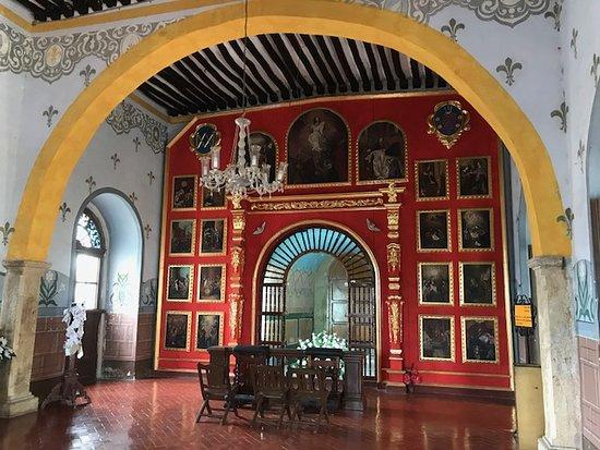 Izamal, Mexique : The virgin's chambers