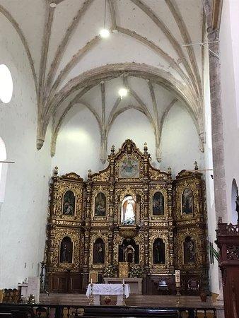 Izamal, México: The church