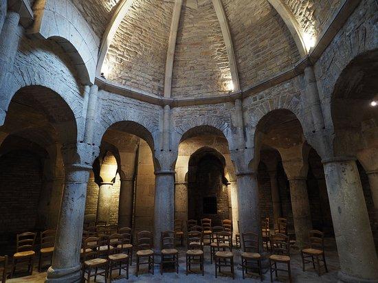 Cathédrale Saint-Bénigne de Dijon: Rotunde der Krypta