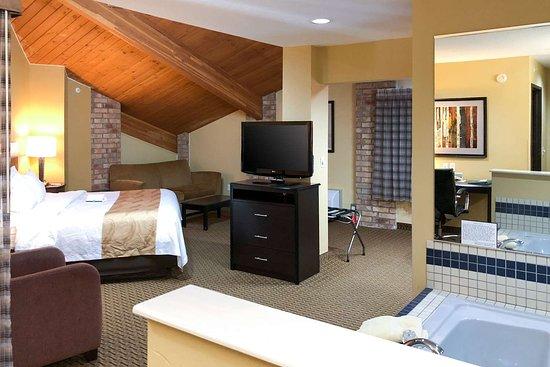 Quality Inn & Suites Sun Prairie: King suite