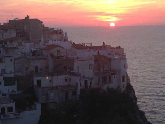 Hotel Peschici : panorama da terrazza panoramica