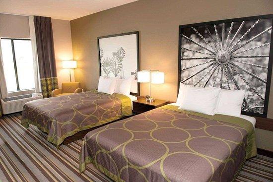 Stanton, TX: Guest room