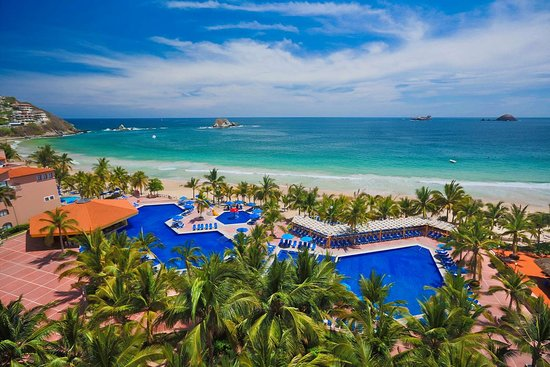 Map of Ixtapa Hotels and Attractions on a Ixtapa map TripAdvisor