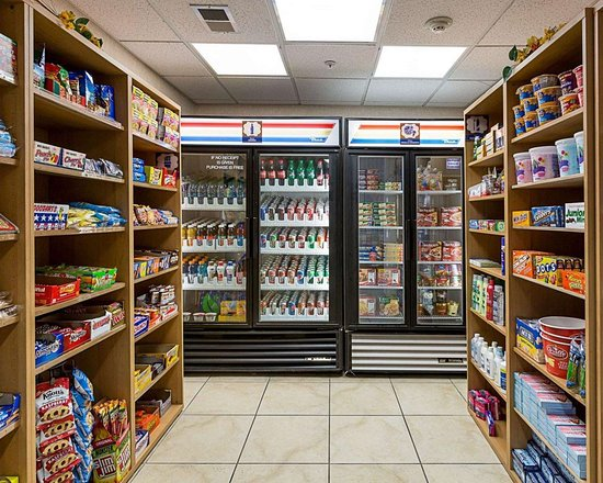 MainStay Suites Texas Medical Center/Reliant Park : Hotel convenience store