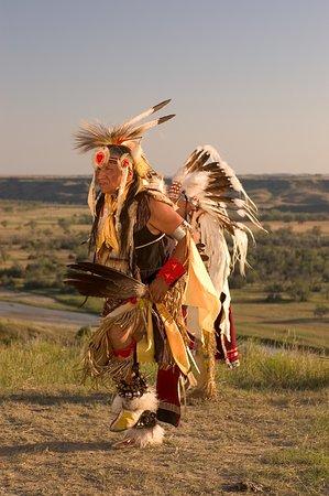 Kyle, Dakota del Sur: Pow wow traditional dancer