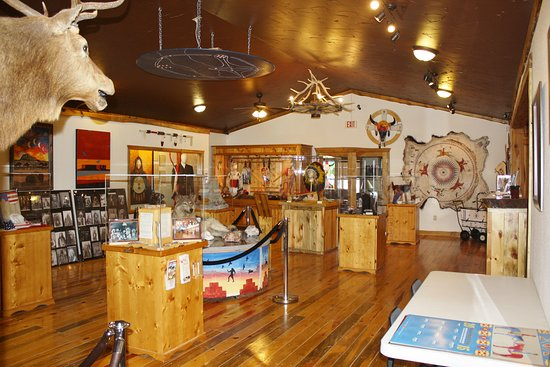 Kyle, Dakota del Sur: Pine Ridge Visitor Center