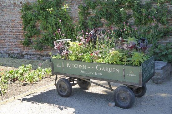 Audley End House and Gardens: Audley End House Walled Organic Kitchen Garden