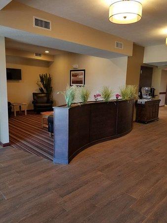 Savoy, IL: Hotel Lobby