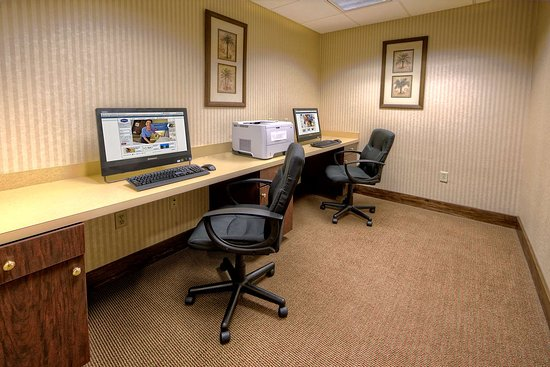 Hampton Inn Manning: Business Center