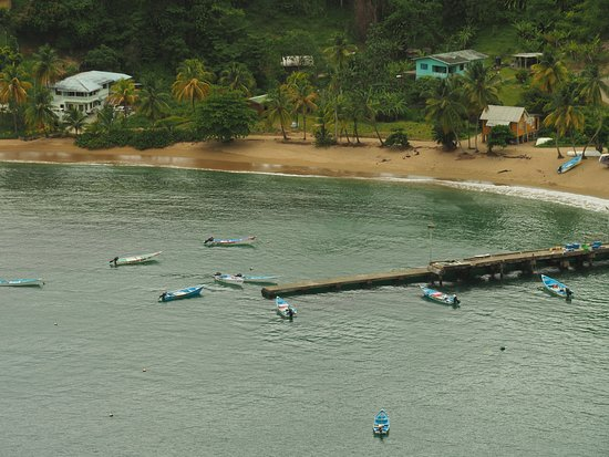 Parlatuvier, Tobago : The jetty to buy fish from