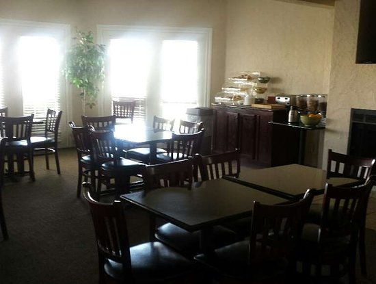 Dumas, Teksas: Breakfast Area