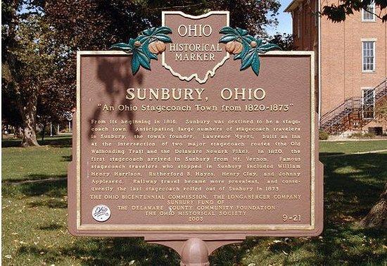 Sunbury, OH: Historical Marker
