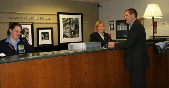 Hampton Inn Grand Rapids-South : Reception