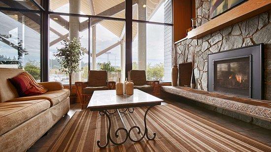 Silverdale, Etat de Washington : Lobby Fireplace