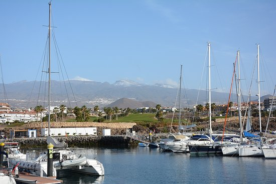 Go-Jetski Tenerife: Dies ist der Hafen, von dem aus wir uns auf den Weg machen