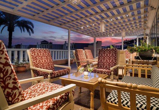 Playa de Fañabé, España: Lobby Terrace