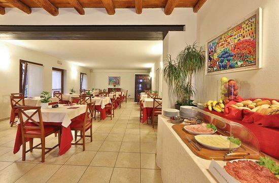 Lugagnano, Italia: Breakfast area
