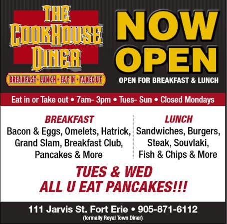 Fort Erie, Kanada: Loads to choose from everyday at the diner.