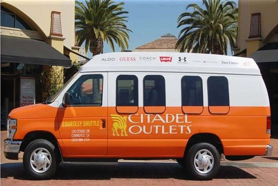 Rowland Heights, CA: Citadel Outlets Free Shuttle