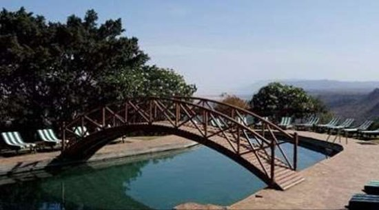 Lake Manyara National Park, Tanzanya: x swimming pool