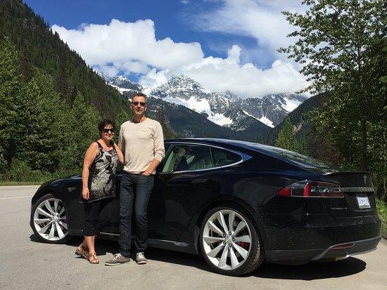 Okanagan Valley, Kanada: Glacier National Park, road trip with Tesla P85