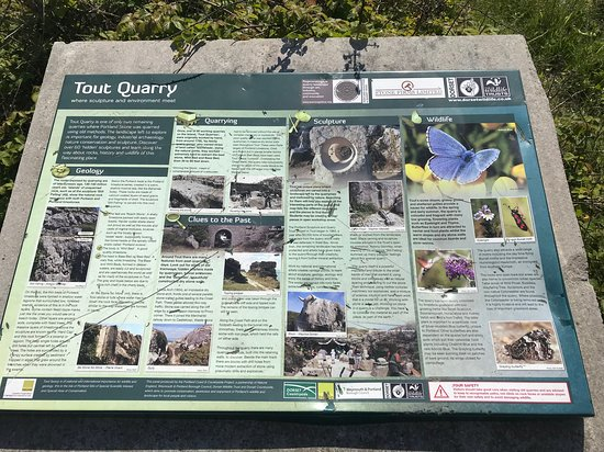 Tout Quarry Sculpture Park and Nature Reserve: Tout Quarry guide