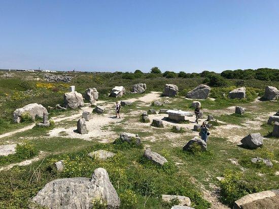 Tout Quarry Sculpture Park and Nature Reserve: Tout Quarry aerial view