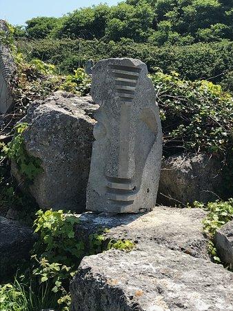 Tout Quarry Sculpture Park and Nature Reserve: Tout Quarry sculpture 1