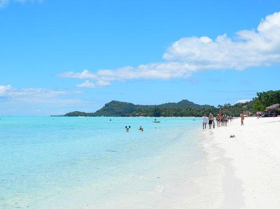 Matira Beach One Mile Of White Sand