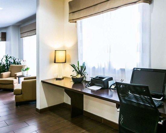 Sleep Inn & Suites N Austin: Business center with high-speed Internet access