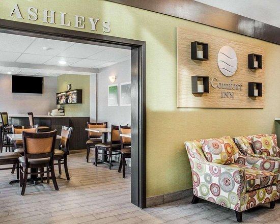 Comfort Inn Jamestown Falconer: Hotel lobby