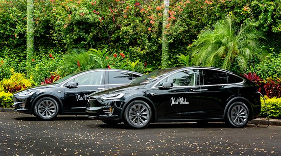 Tesla Model X house cars to take you anywhere in Wailea! - Picture