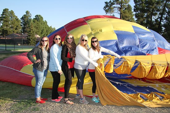 Rocky Mountain Balloon Adventures, LLC: After your high, you can help repack the balloon