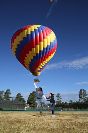 Rocky Mountain Balloon Adventures, LLC: Catch a balloon!