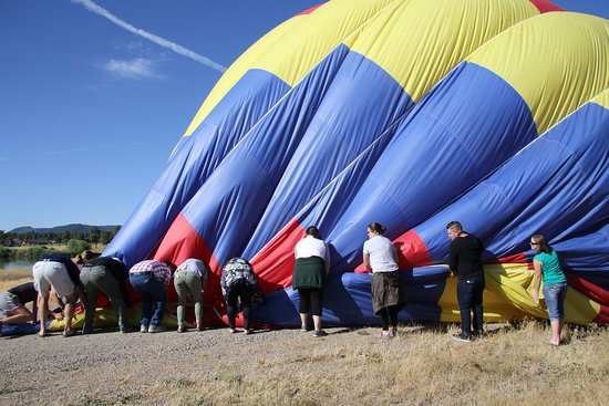 Rocky Mountain Balloon Adventures, LLC: Deflating the balloon via teamwork