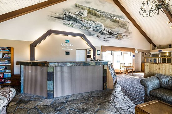 Ocean Shores, WA: Hotel lobby