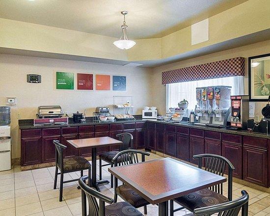 Stanton, TX: Breakfast area