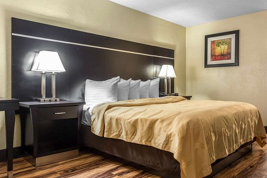 Quality Inn Goose Creek : Guest room with one bed