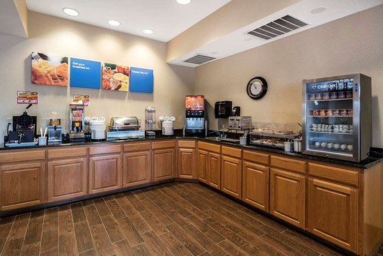 Comfort Inn & Suites Walla Walla: Breakfast area
