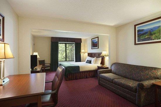 Wingate by Wyndham Lake George: Standard King Bed Room